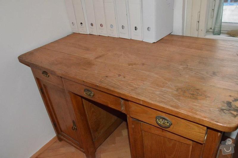 Oprava stolu - desky a kování: Stul04