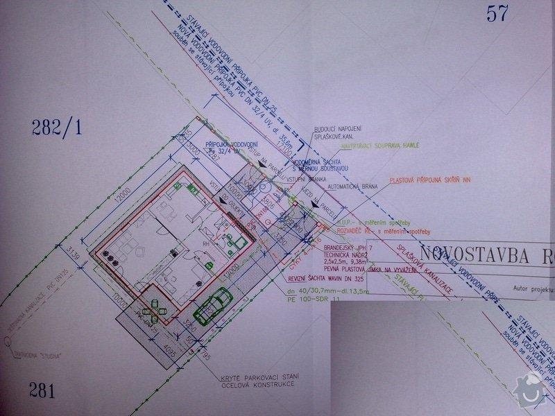 Poptávám realizaci stavby rodinného domu na klíč.: 31052013397