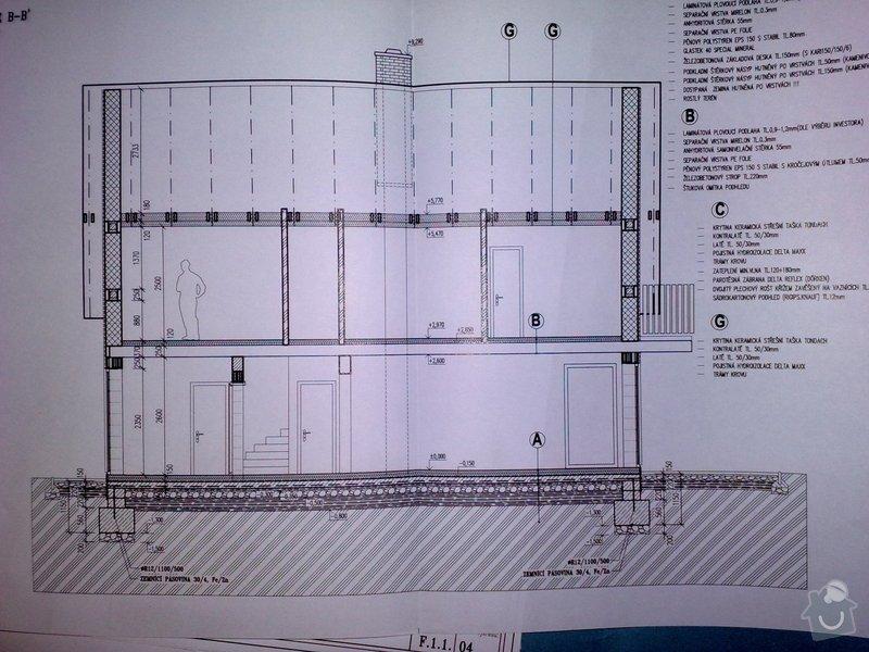 Poptávám realizaci stavby rodinného domu na klíč.: 31052013410