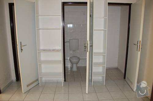 Rekonstrukce bytu, návrh interieru: Srazna6