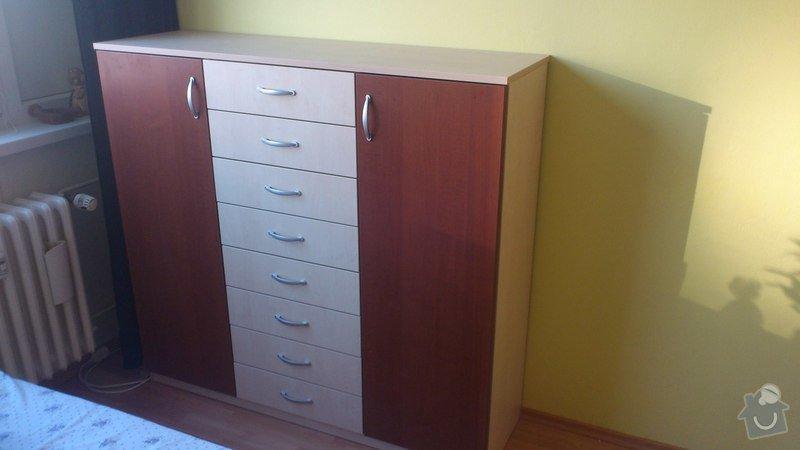 Výroba vestavěné skříně: kln_praha