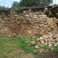 Oprava kamenne zdi zed1