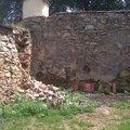 Oprava kamenne zdi zed2