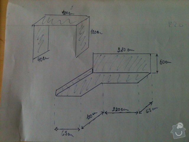 Pracovní deska na kuchyňskou linku : Prac_deska