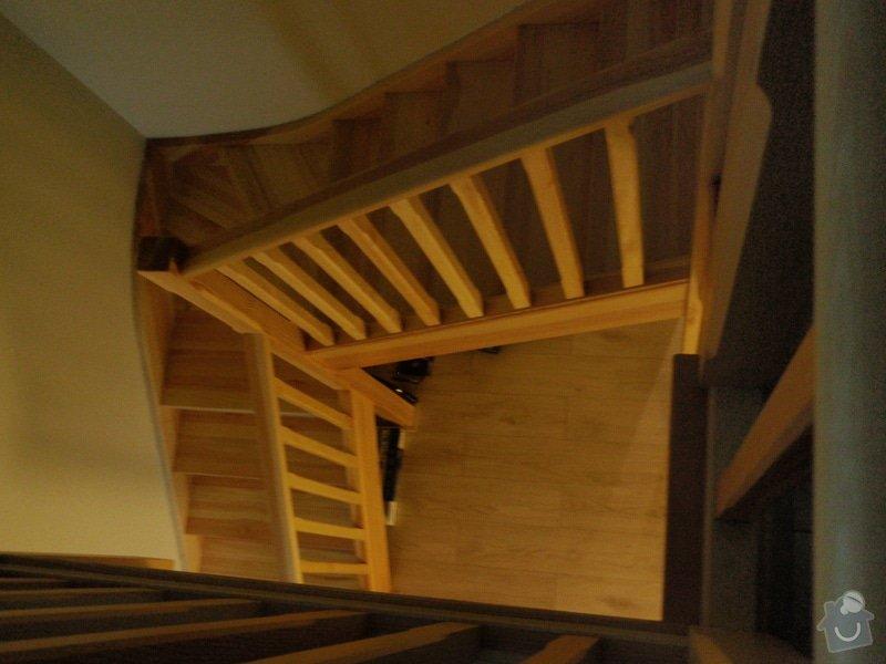 Dřevěné zábradlí na terasu: P5233027