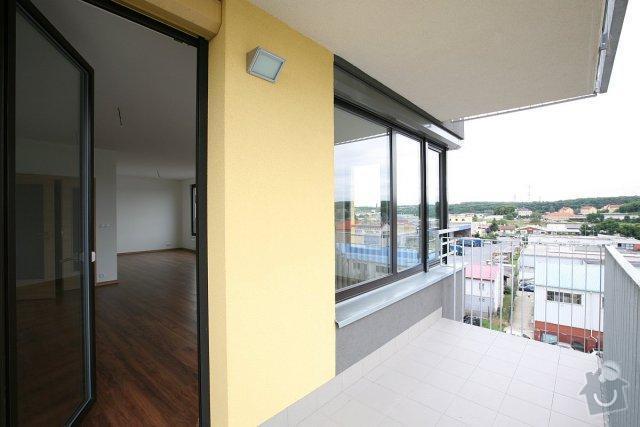 Venkovní rolety do bytu: balkon01