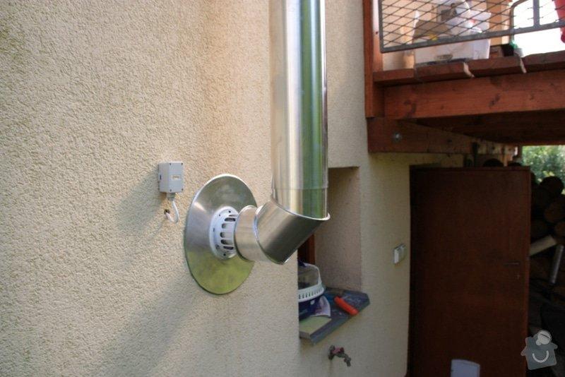 Montáž kondenzačního kotle Vaillant + zásobníku + regulace + komínu: IMG_0729a