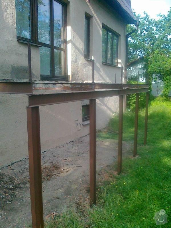 Kovová konstrukce terasy: 28052013184_1_