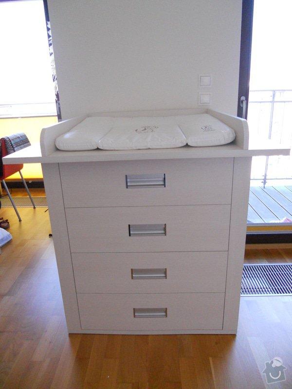 Truhlářská výroba - postel + komoda: DSCN2183
