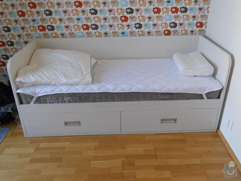 Truhlářská výroba - postel + komoda: DSCN2185