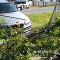 Oprava plotu rozbity plot