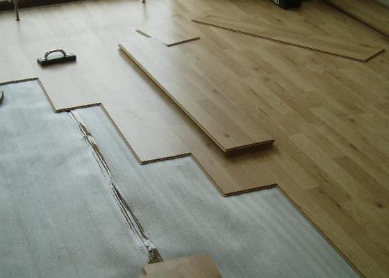 Montáž plovoucích podlah a interierových dveří
