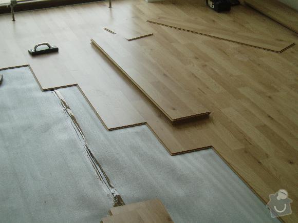 Montáž plovoucích podlah a interierových dveří: 6