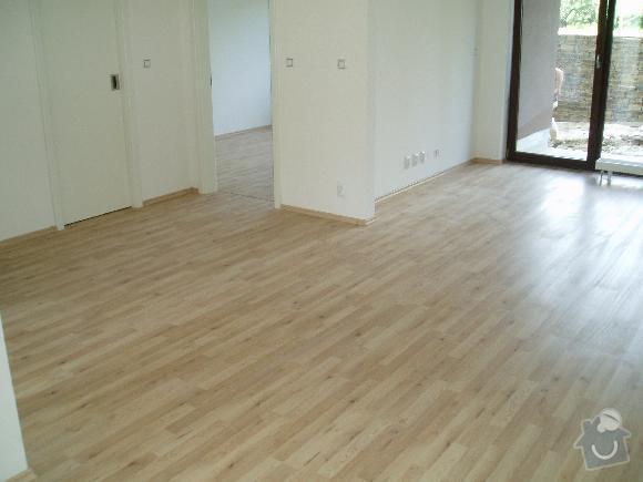 Montáž plovoucích podlah a interierových dveří: 1
