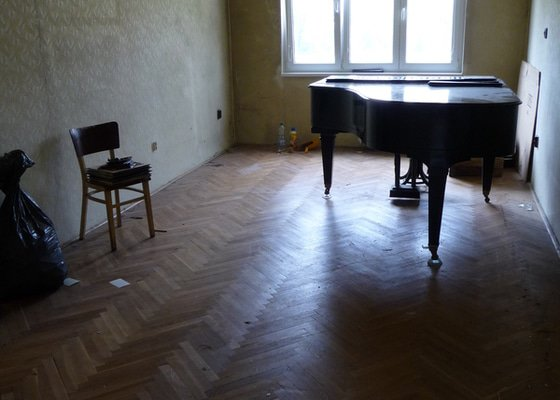 Renovace parket, 3 pokoje, 53m2