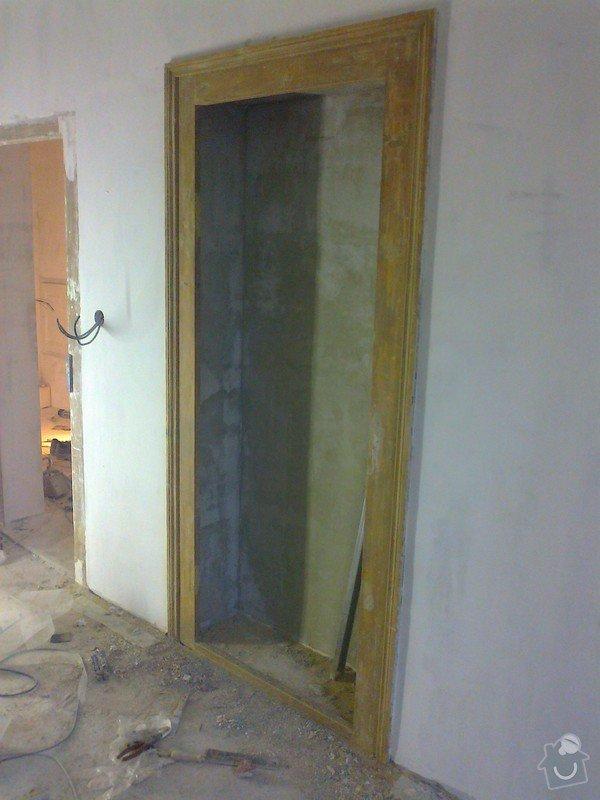 Renovace zdí sadrove omitky + renovace dveri a oken: Fotografie0003
