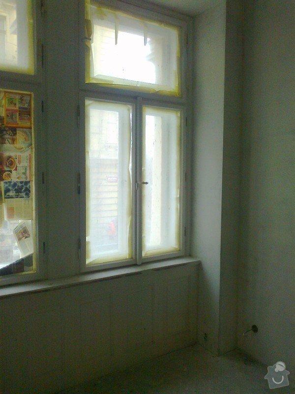 Renovace zdí sadrove omitky + renovace dveri a oken: Fotografie0004