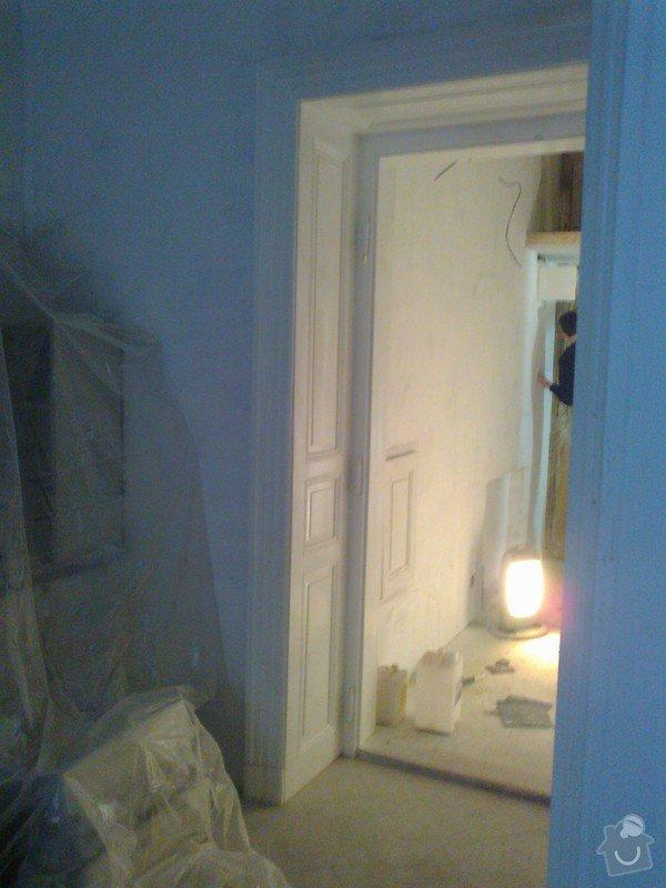 Renovace zdí sadrove omitky + renovace dveri a oken: Fotografie0005