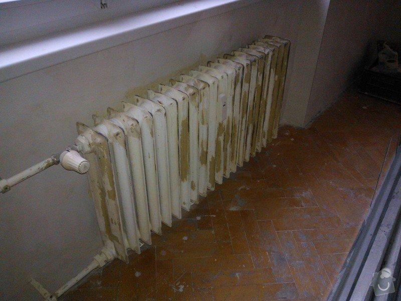 Demontáž + opískování + nástřik radiátorů: 20130705_202214_WP_001274