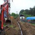 Realizace vodovodni a kanal pripojky pro rd 12