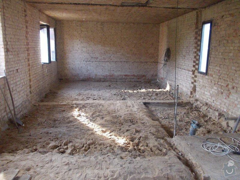Beton 100 m2 v domě: DSCN0742