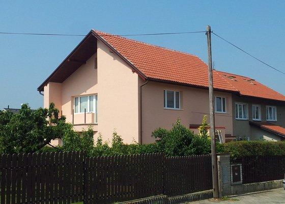 Zateplení fasády - Horoměřice u Prahy