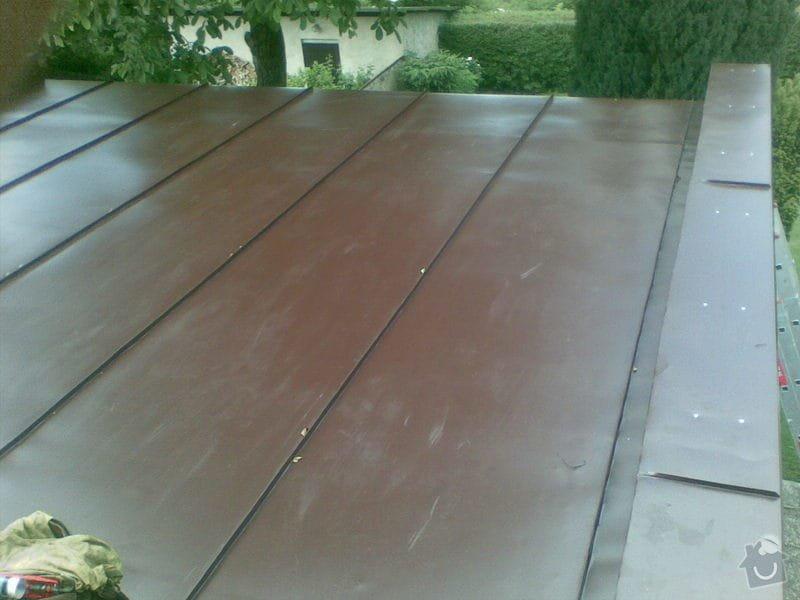 Falcovaná střecha,fasáda,dlažba: 004