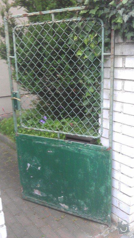 Vchodovou branku + vrata : branka1