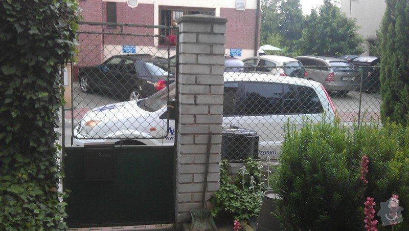 Vchodovou branku + vrata : branka2