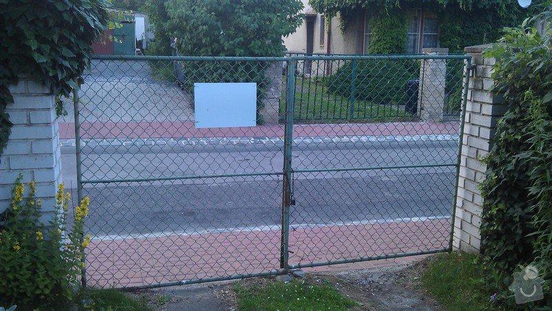 Vchodovou branku + vrata : branka3