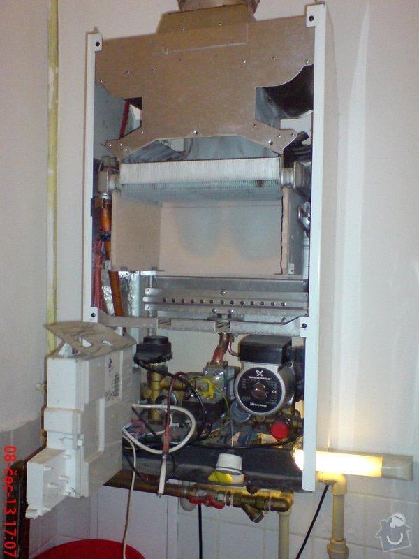 Revize plynoveho kotle a pripojeni sporaku: DSC07918