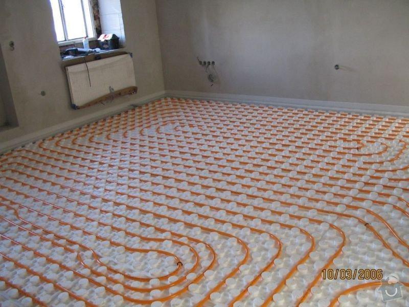 Rozvod vodoinstalace a topného systému vč. podlahového topení: top3