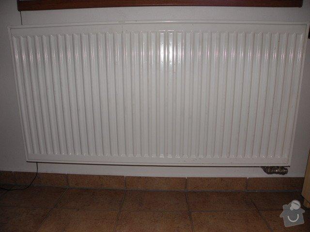 Rozvod vodoinstalace a topného systému vč. podlahového topení: pripojeni_radiatoru