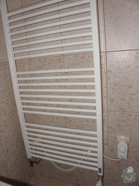 Rozvod vodoinstalace a topného systému vč. podlahového topení: rad
