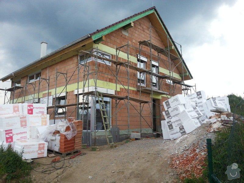 Stavba rodinného domu: 20130703_153858