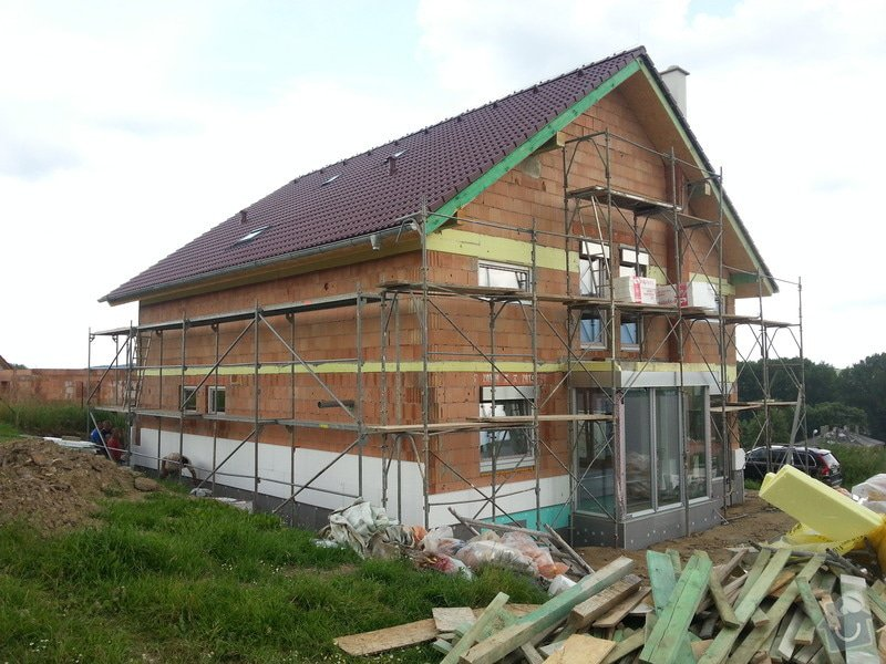 Stavba rodinného domu: 20130703_154126