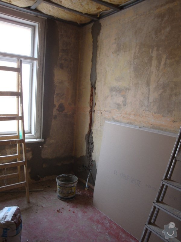 Rekonstrukce koupelny a toalety + další zednické práce: DSC07467