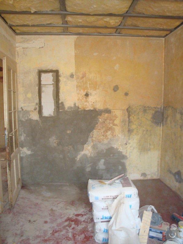 Rekonstrukce koupelny a toalety + další zednické práce: DSC07469