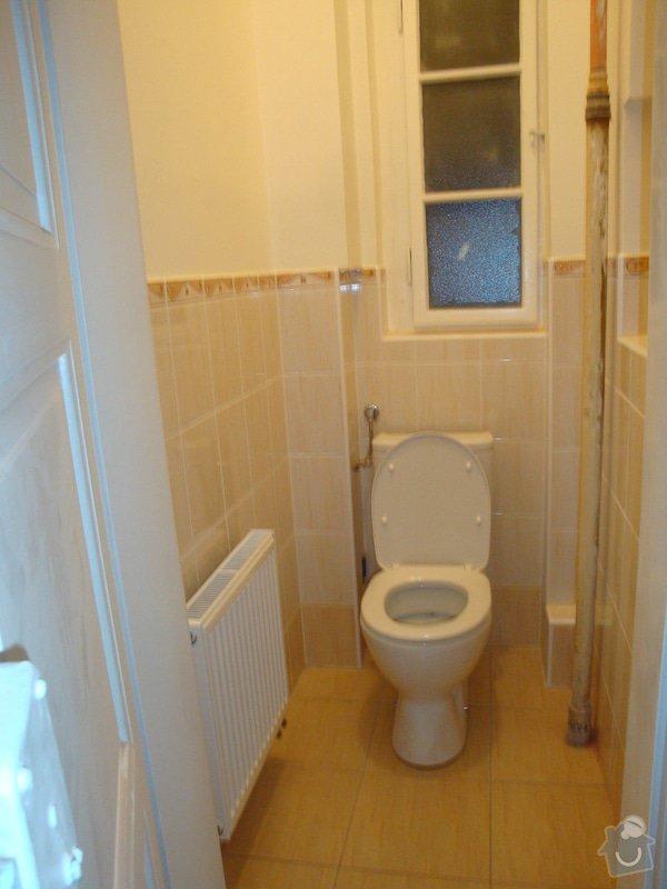 Rekonstrukce koupelny a toalety + další zednické práce: DSC07518