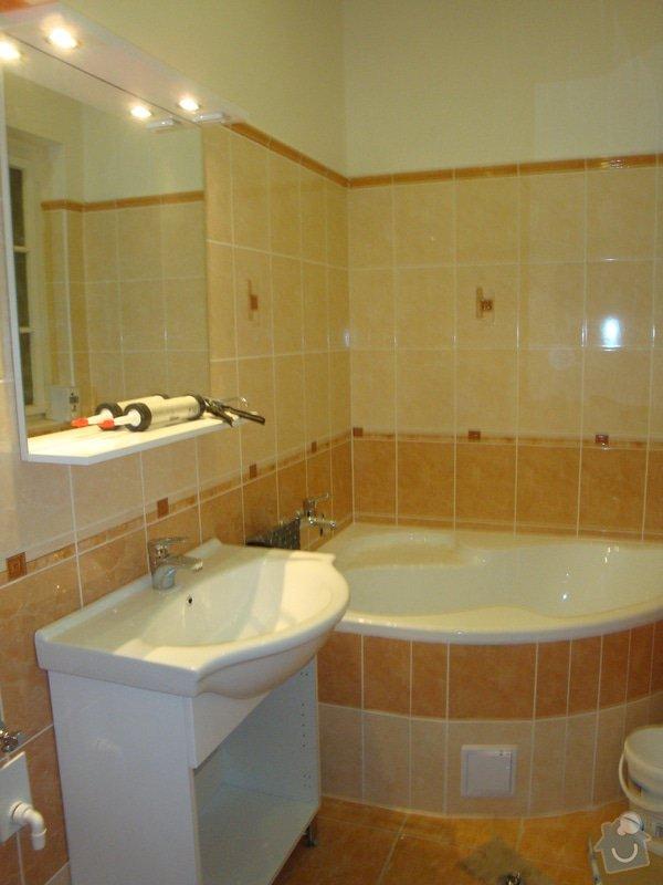 Rekonstrukce koupelny a toalety + další zednické práce: DSC07520
