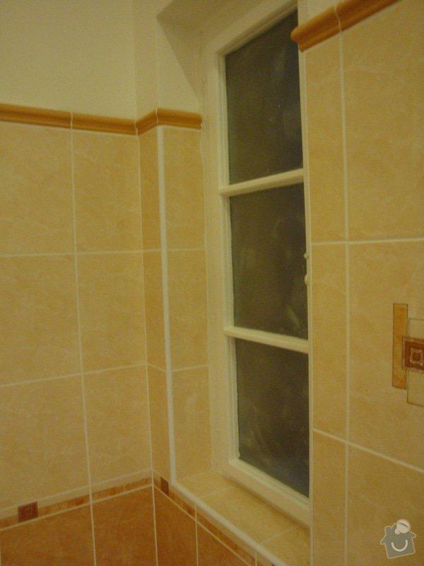Rekonstrukce koupelny a toalety + další zednické práce: DSC07533