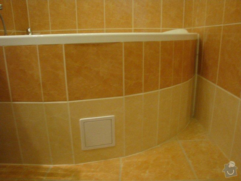 Rekonstrukce koupelny a toalety + další zednické práce: DSC07535