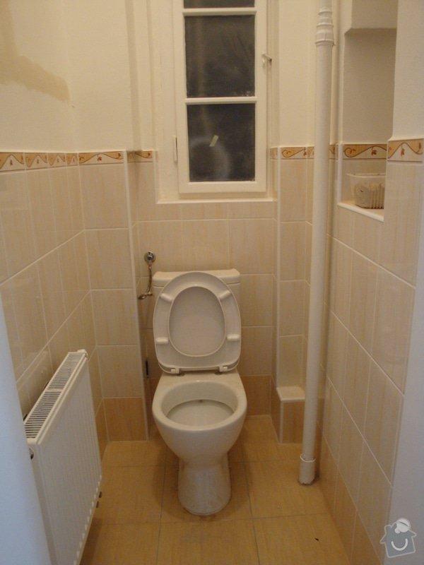 Rekonstrukce koupelny a toalety + další zednické práce: DSC07536
