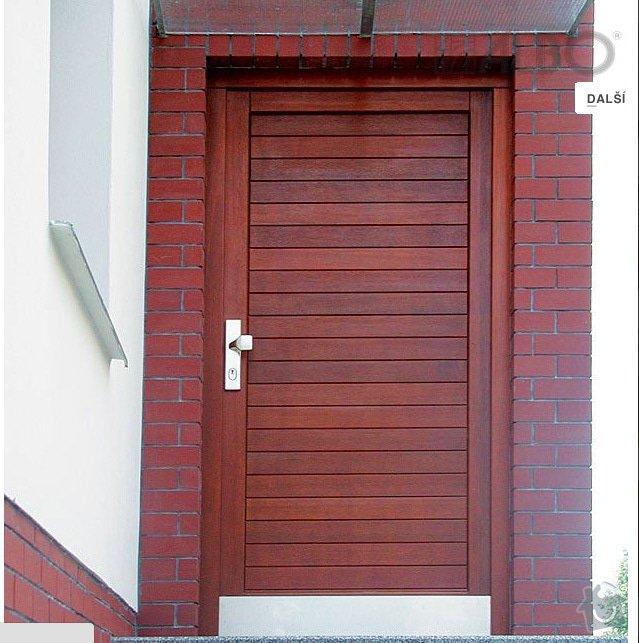 3x vchodové dveře: dvere_prouzky