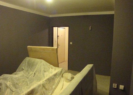 Rekonstrukce bytového jádra, malby