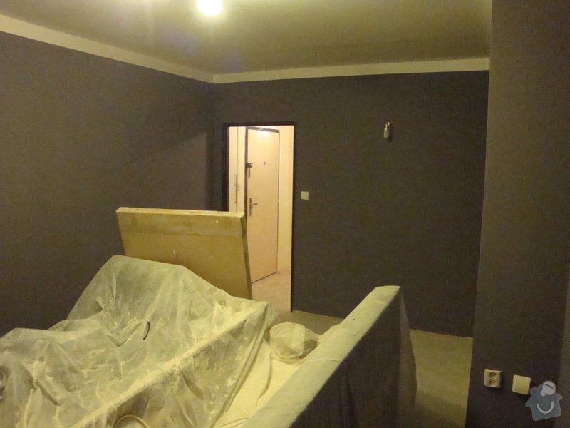 Rekonstrukce bytového jádra, malby: DSC07354