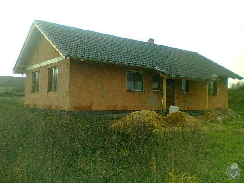 Pomocné i samostatné stavebné práce pri stavbe rodinného domu: Fotografie0316