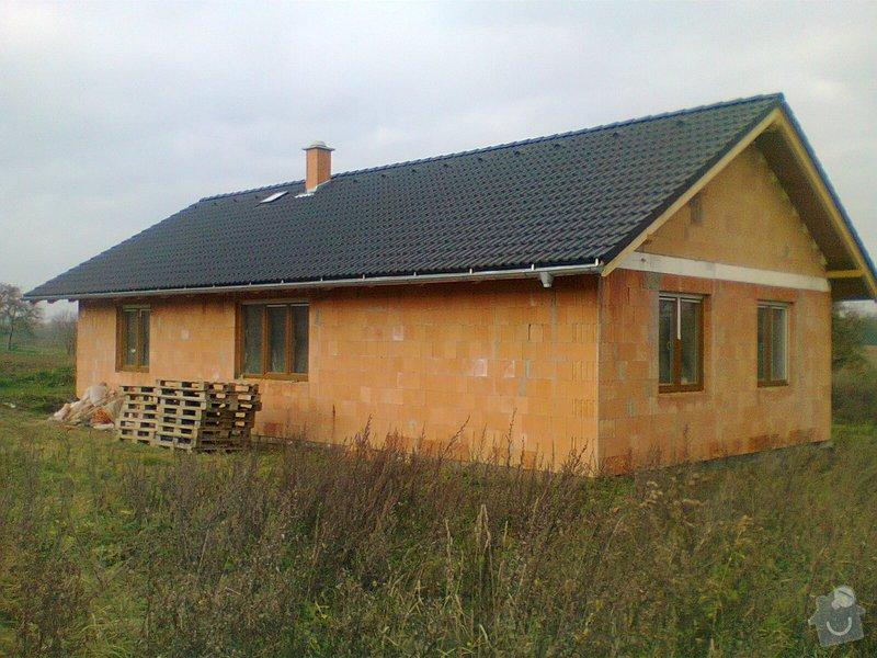 Pomocné i samostatné stavebné práce pri stavbe rodinného domu: Fotografie0319