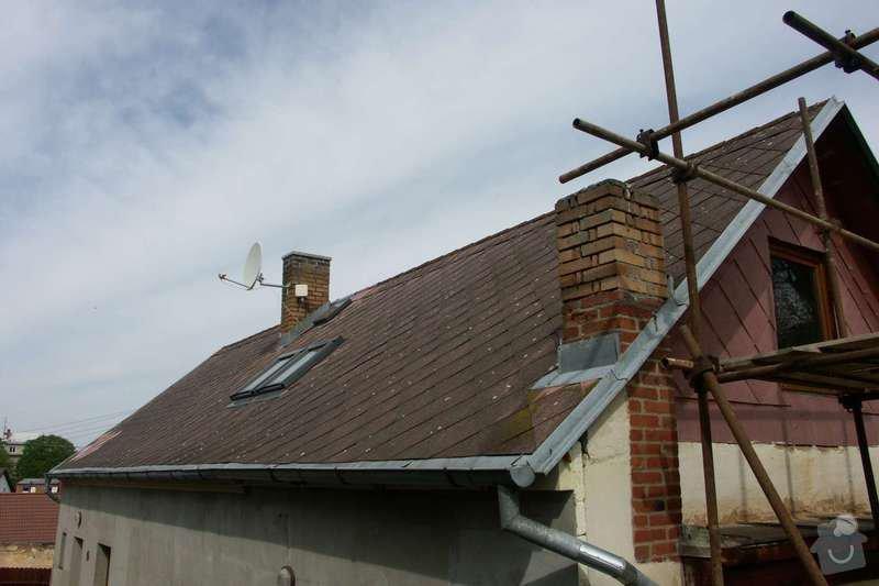 Natření střechy: Bocni_pohled_pred