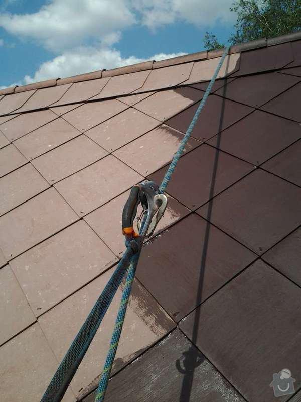 Natření střechy: 2